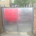 Double Steel Door