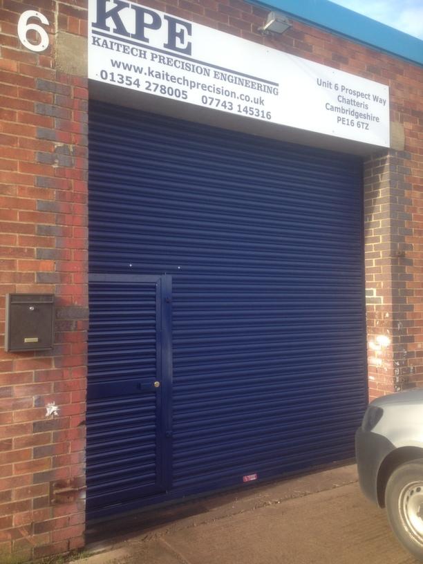 Fenland District Council Security Shutters Ltd